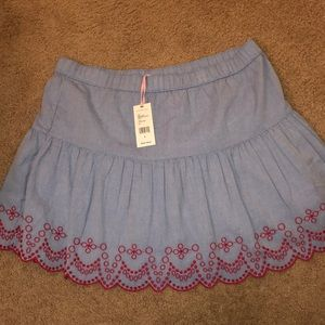 NWT VV Embroidered Skirt